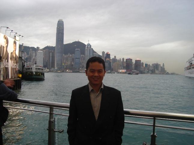 Hong Kong view from Kowloon